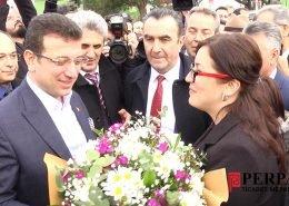 Ekrem İmamoğlu Perpa Ziyareti Hasan Sezgin